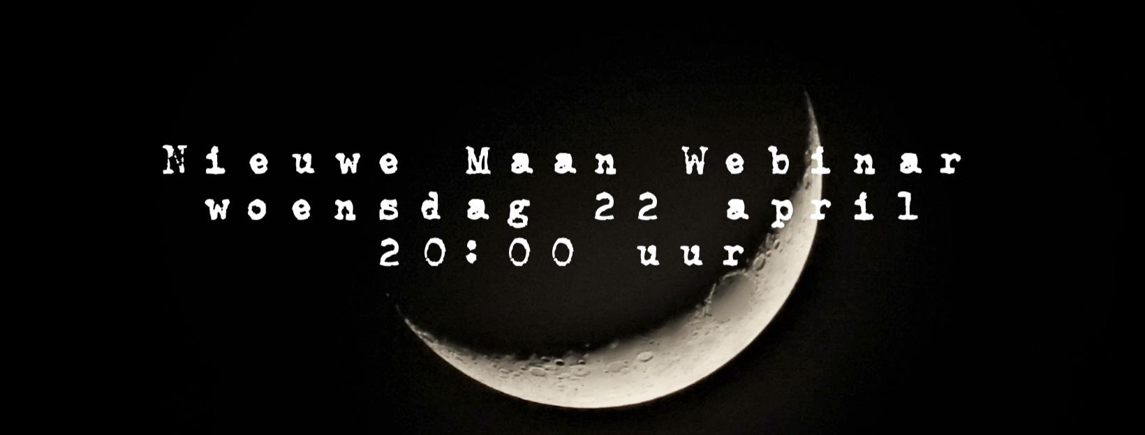Nieuwe maan webinar